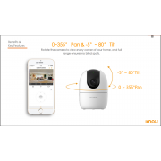 Camera IP Wifi 2.0MP IPC-A22EP-IMOU
