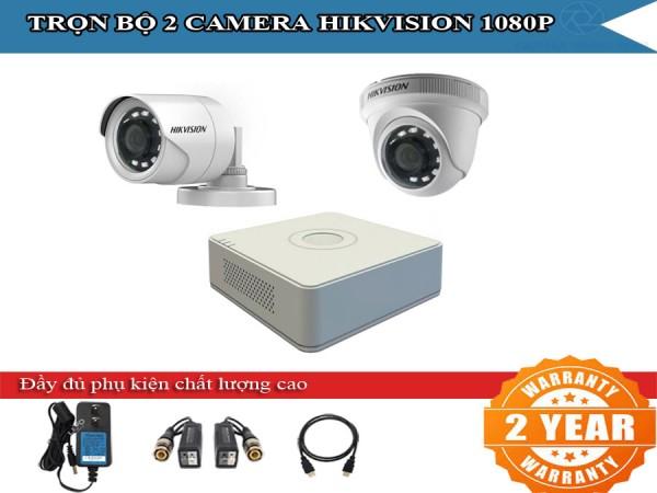 Trọn bộ 2 - 4 camera HIKVISION 2.0mpx siêu tiết kiện